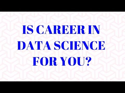 Is Career in Data Science or Analytics for you?