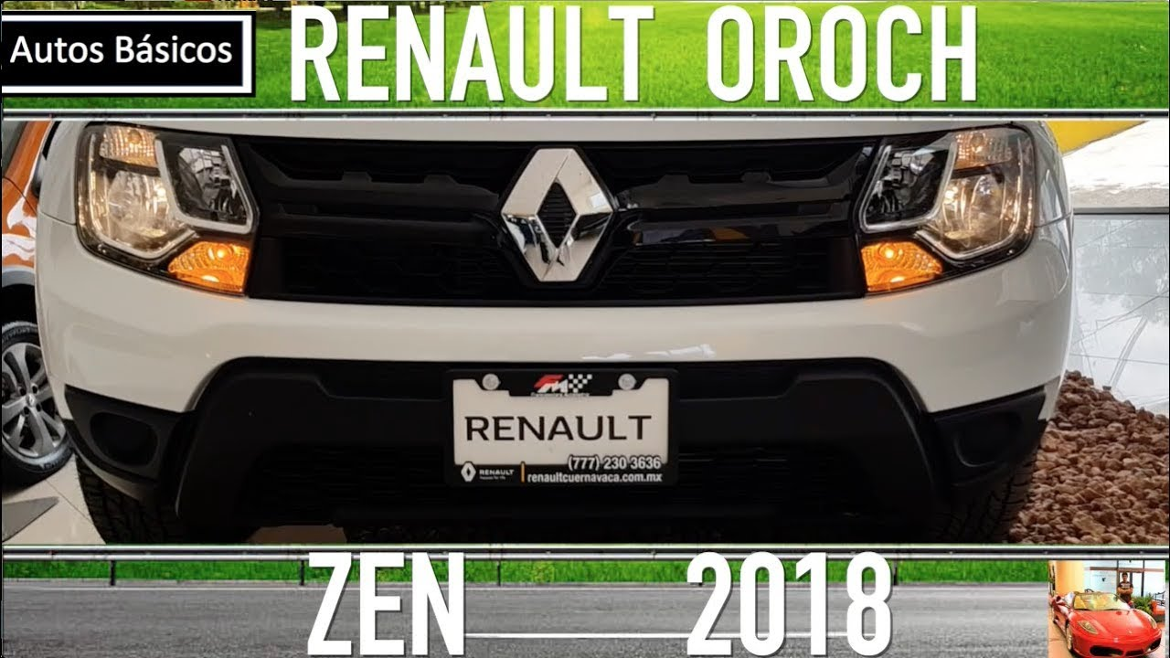 Renault Oroch 2018 Version Basica