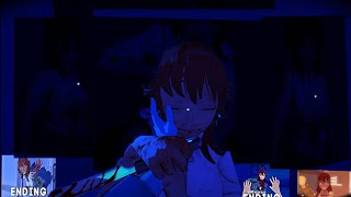 Абсолютно все концовки в одном видео.Nightmare Mode.All Endings In One Video.-#10 Saiko No Sutoka