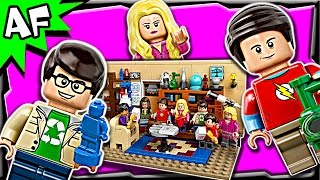 Lego Ideas The Big Bang Theory 21302 Stop Motion Build Review