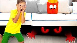 سينيا والشبح الغريب تحت السرير