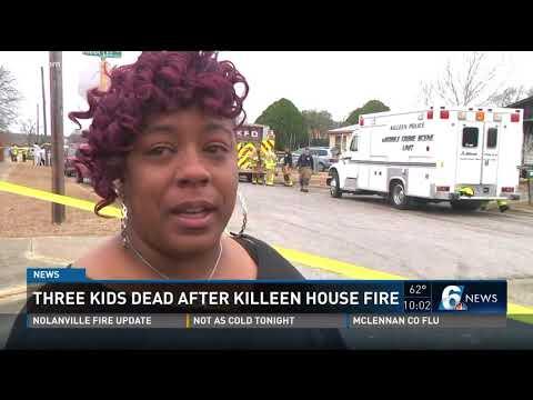 Three Kids Dead After Killeen House Fire