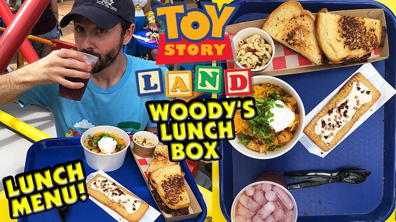 Woodys Lunch Box Lunch Menu Toy Story Land Disneys Hollywood