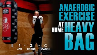25 Minute Anaerobic Exercise for Boxing at Home | Boxing Workout at Home Heavy Bag