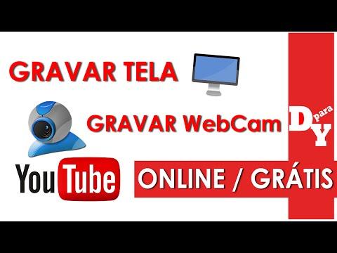 Como gravar a Tela do Pc ou WebCam Online Grátis - Dicas Para Youtubers