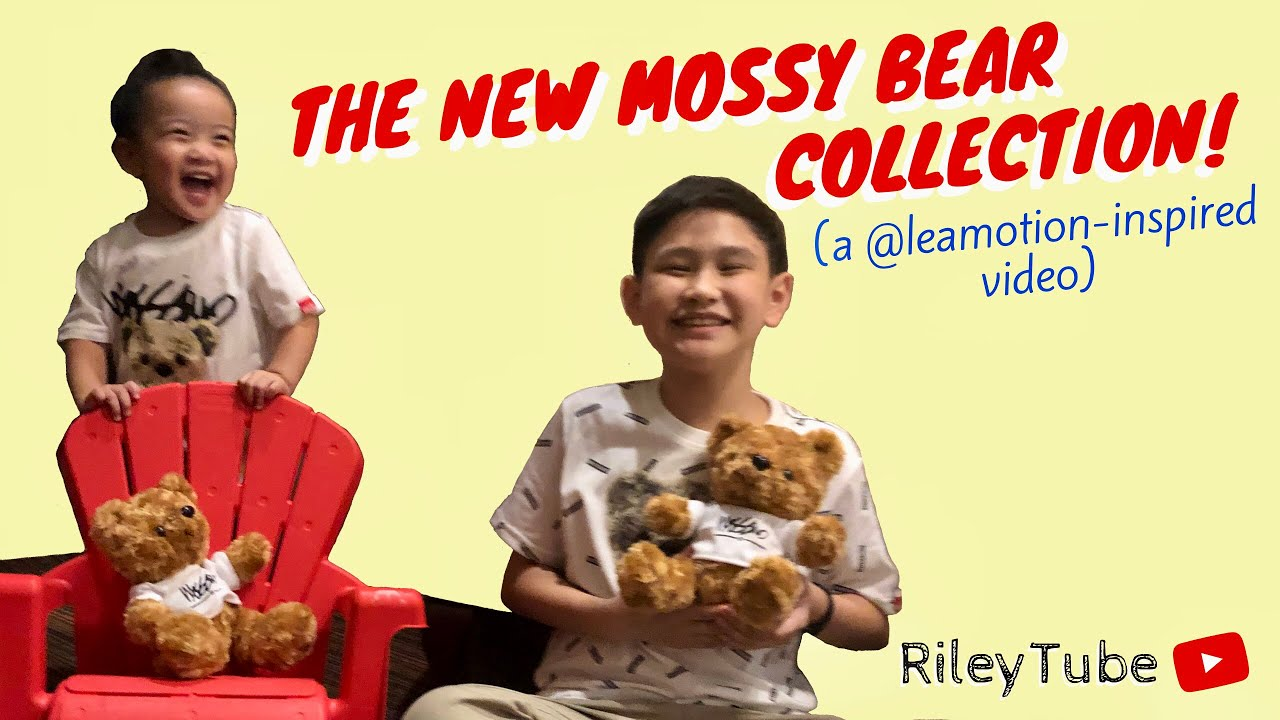 #RLcollabs 023 | THE NEW MOSSY BEAR COLLECTION! (a @leamotion-inspired video) (Philippines)