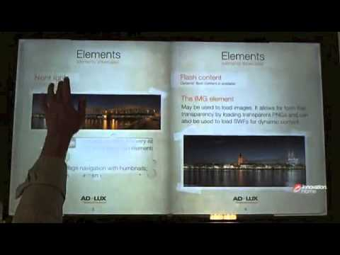 ScreenBook - Multitouch