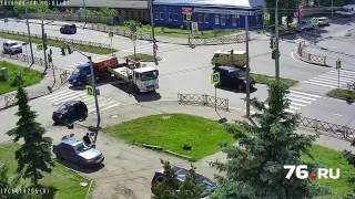 видео переславль эвакуатор