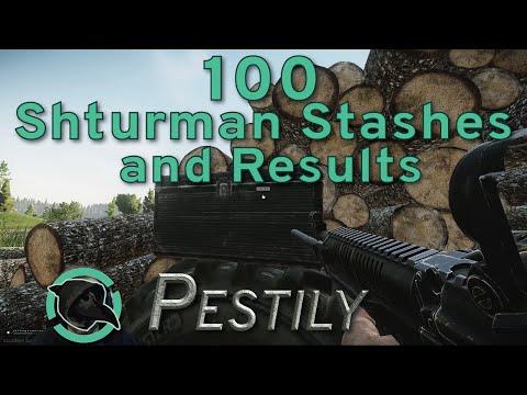 100 Shturman Stashes & Results - Guide - Escape From Tarkov