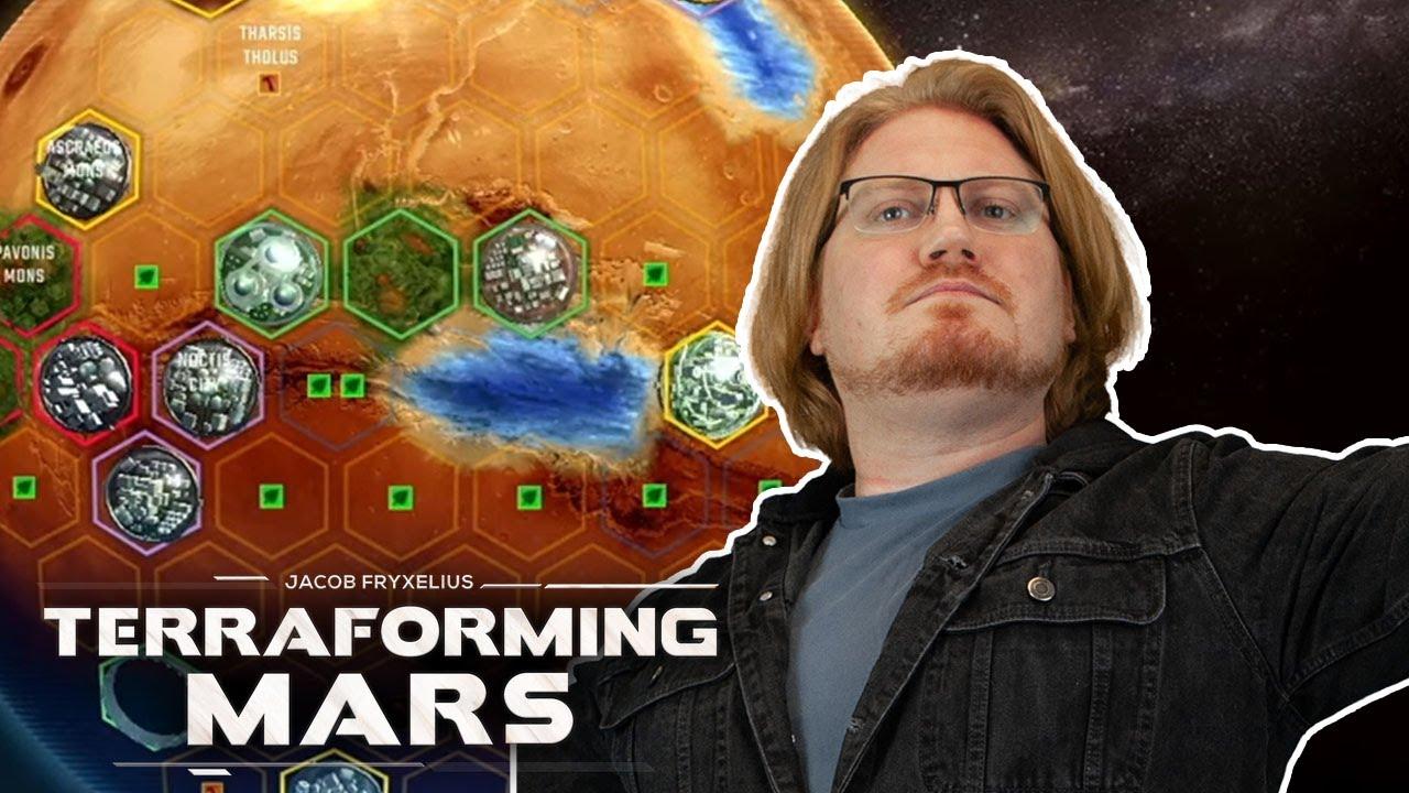 Taking Back Mars! | Terraforming Mars | Lewis, Duncan, Daltos & Rythian!