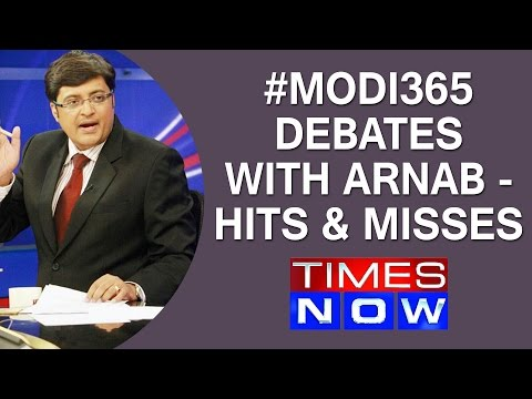 #Modi365 Debates with Arnab - Hits & misses