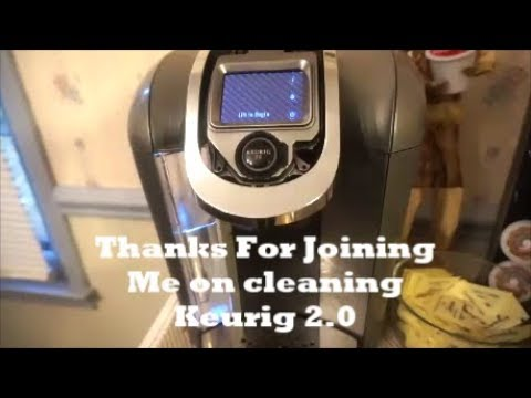 How to Clean your Keurig 2.0