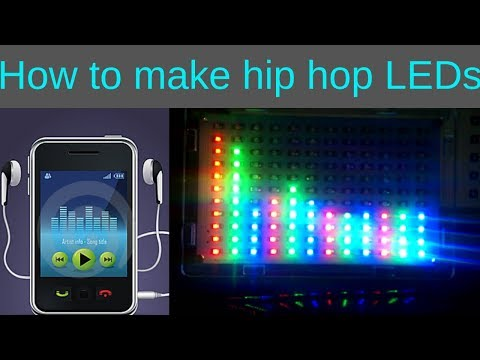how to make LEDs that flash with music