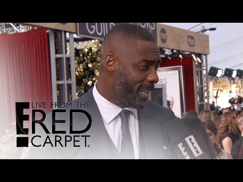 Idris Elba Gushes Over New Sex Symbol Status at SAG Awards | Live From the Red Carpet | E! News