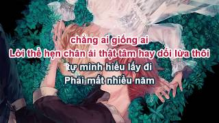 [KARAOKE LỜI VIỆT] Đáp án - Dương Khôn ft. Quách Thái Khiết   答案 - 杨坤 ft. 郭采洁