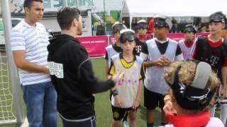 Blindenfußballer zu Gast bei Rotation Prenzlauer Berg