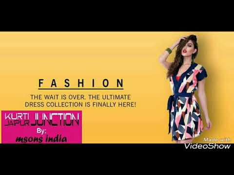 Latest Fashion Kurtis Trend by MSONS INDIA