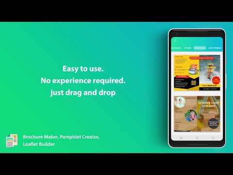 brochure maker pamphlet creator leaflet builder apps on google play