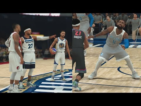 NBA 2K18 My Career - 3 Point Contest & All-Star Game! PS4 Pro 4K Gameplay
