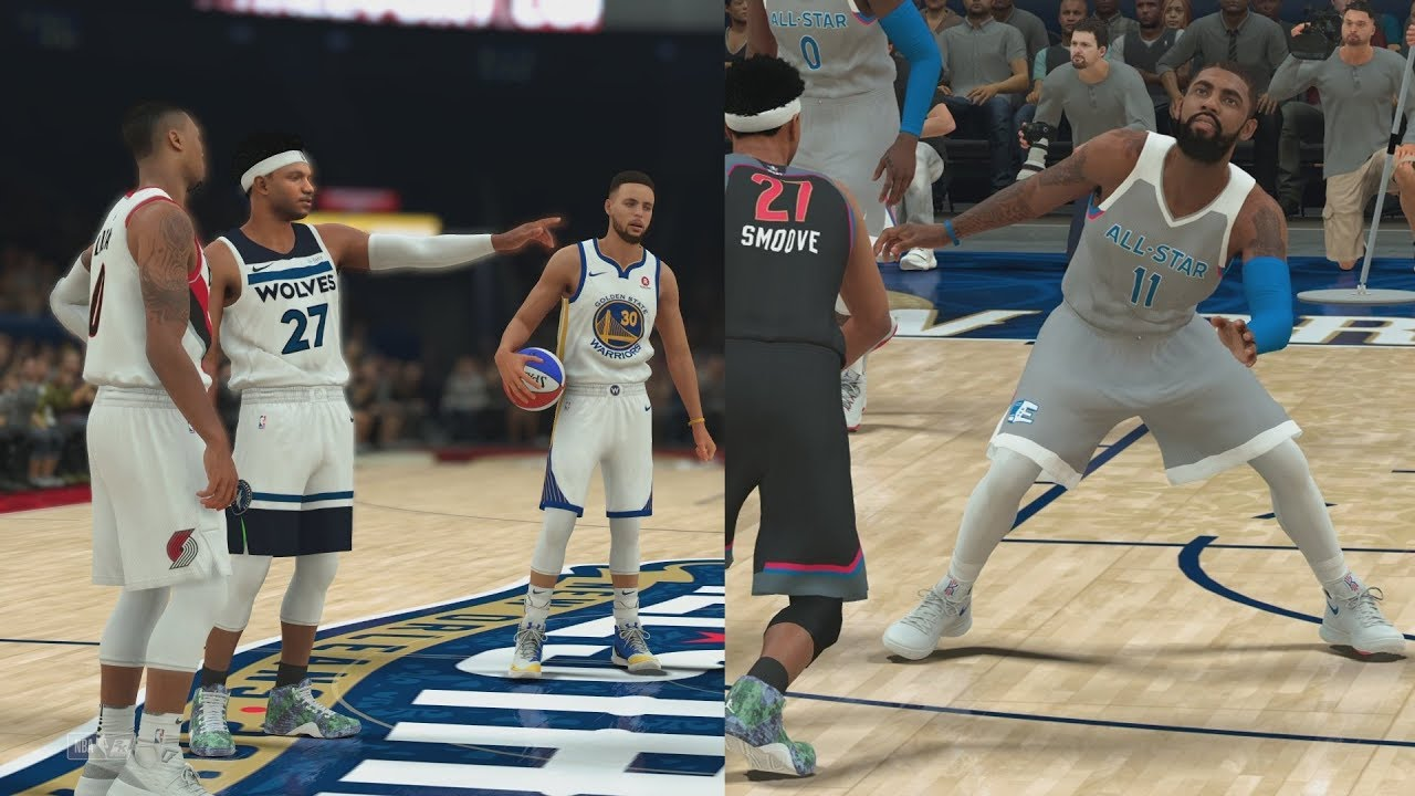 5f923b9e4 NBA 2K18 My Career - 3 Point Contest   All-Star Game! PS4 Pro 4K Gameplay