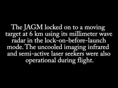 Raytheon JAGM test #3