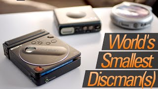The Smallest Portable CD Players Ever Made (That Nobody Bought)