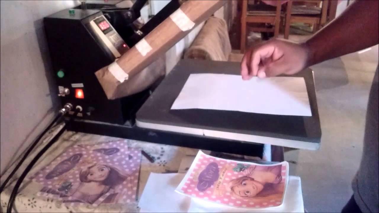 6228c1bc6 tutorial de : como sublimar bolsitas de friselina - YouTube
