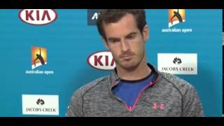 Andy Murray 'frustrated' after losing to Novak Djokovic in Australian Open final