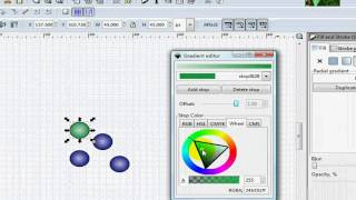 How to draw crystal weaving diagram using Inkscape Part 3 (draw shiny balls)