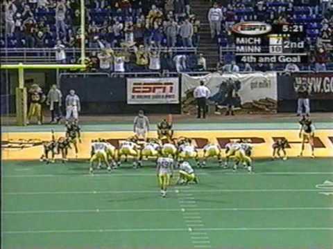 1998: Michigan 15 Minnesota 10