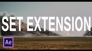 Set Extension in After Effects Tutorial (CBAS)