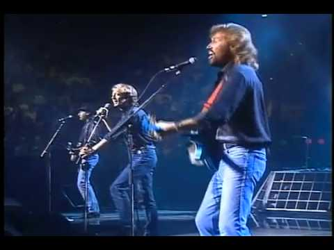 Bee Gees - Stayin' Alive (Live-HQ).flv