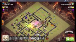 TH9 ANTI 3 STAR WAR BASE 2017 | WITH REPLAYS | ANTI HGHB | ANTI LAVALOON | CLASH OF CLANS