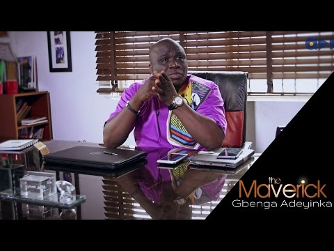 """I gave my Mother problems in the stomach so she had to push me out"" Watch Gbenga Adeyinka the 1st on Accelerate TV's 'The Maverick'"