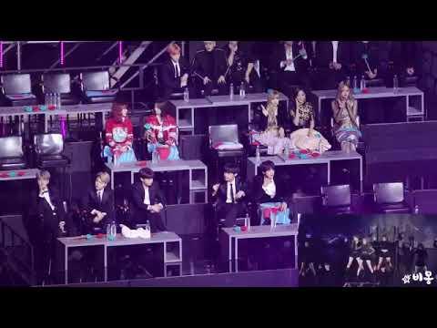 [ GDA 2019 ] BTS, BLACKPINK, BOL4 , iKOK reaction CHUNGHA and GFRIEND