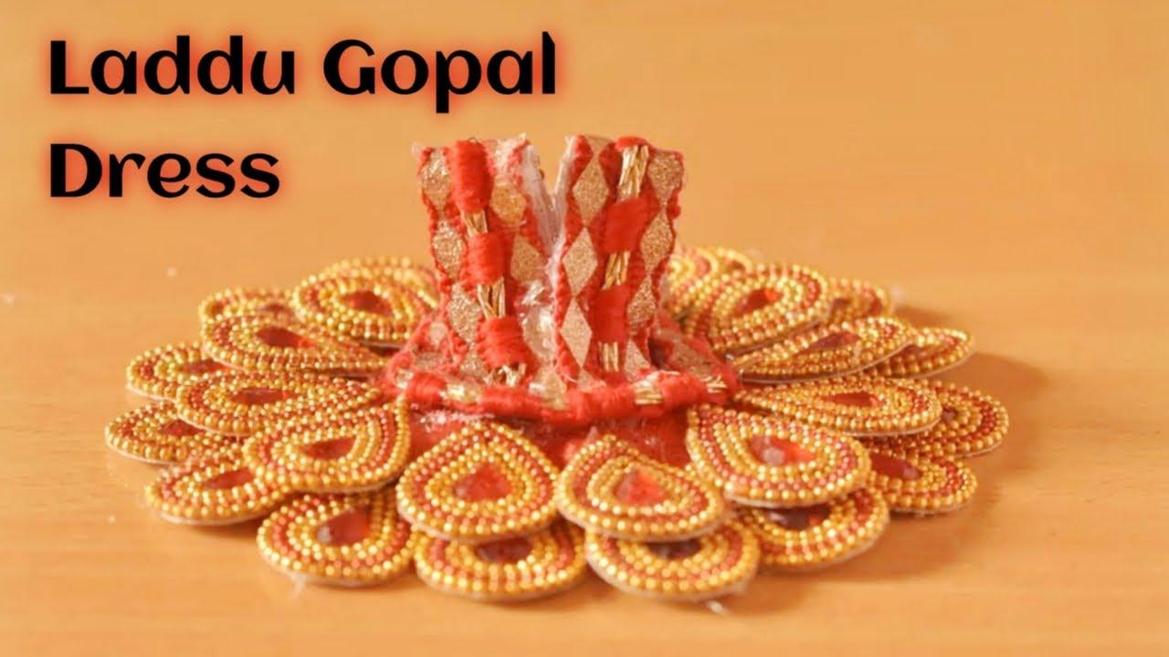 How to make dress of Bal Gopal / Laddu Gopal/ Kanha ji / Krishna - Poshak making