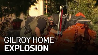 Officials Investigate Explosion at Gilroy Home That Injured One