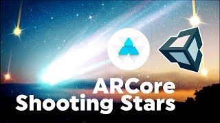 Einheit ARCore Tutorial : Wie Baue Shooting Stars mit Googles Android-AR-SDK