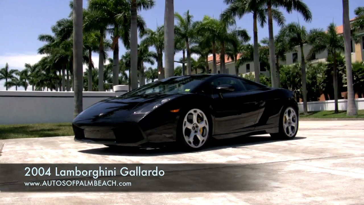 Genial 2004 Lamborghini Gallardo Black A2543   YouTube