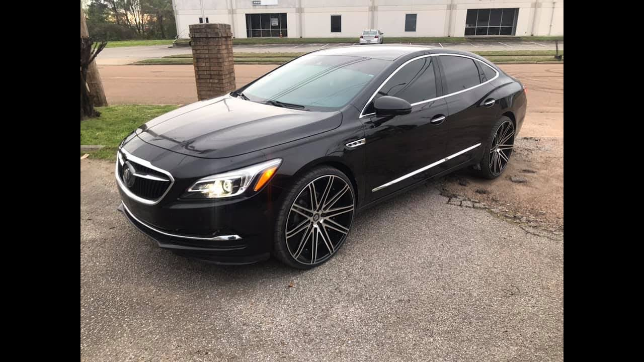 17 Buick Lacrosse Lift For 24s Youtube