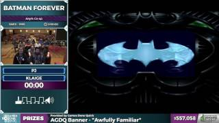 Batman Forever by PJ and klaige in 43:09 - Awesome Games Done Quick 2017 - Part 98
