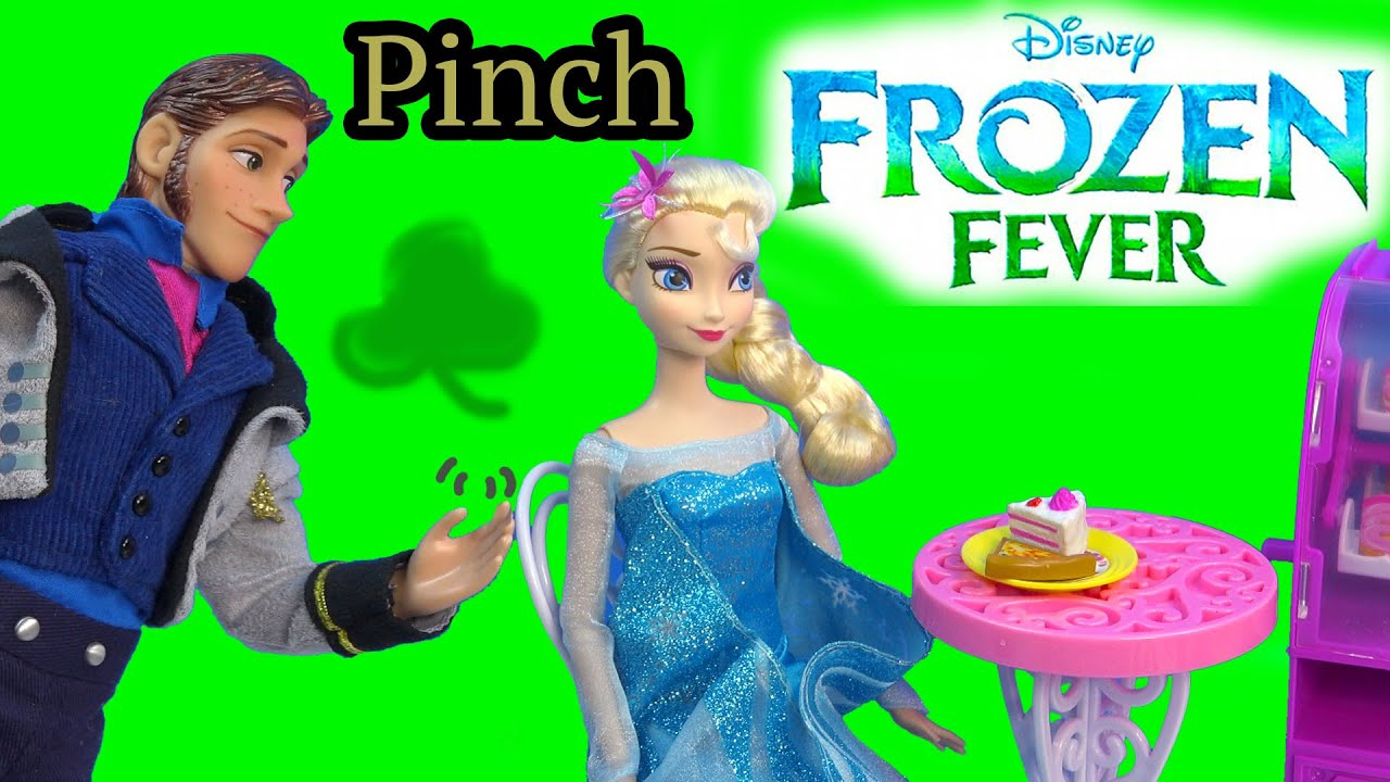 Download Queen Elsa Hans Pinch Princess Anna Frozen Fever Disney Dolls Kristoff St Patricks Holiday Playing