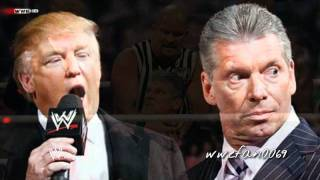 "WWE Donald Trump Theme Song - ""Money Money Money"" + DL"