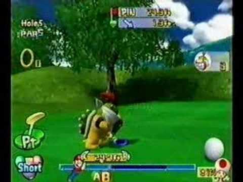 Mario Golf Toadstool Tour Ring Attack