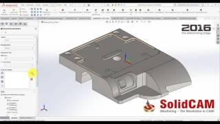 SolidCAM 2016 - Neue Optionen bei der Kettendefinition