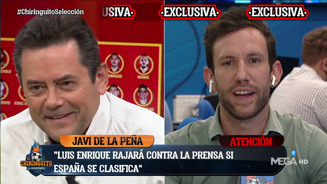 """😲💥"""" LUIS ENRIQUE RAJARÁ contra la PRENSA si GANA"""", EXCLUSIVA de Javi de la Peña"""