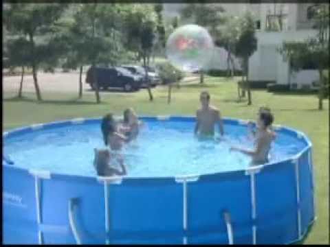piscina desmontable 457 x 122 cm. bestway 56100