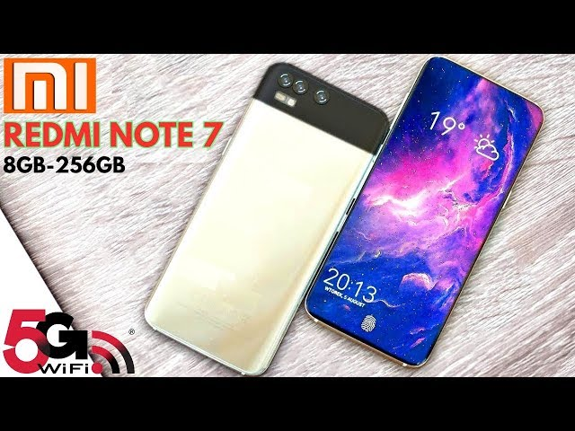 Xiaomi Redmi Note 7 - 41 MP Camera, 5G, Android 9.0 Pie, Specs And Price, (Concept)
