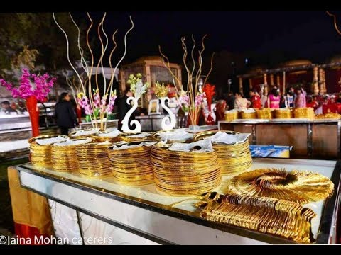 Best Catering Services by Jaina Mohan Caterers & Halwai ||catering services || wedding catering