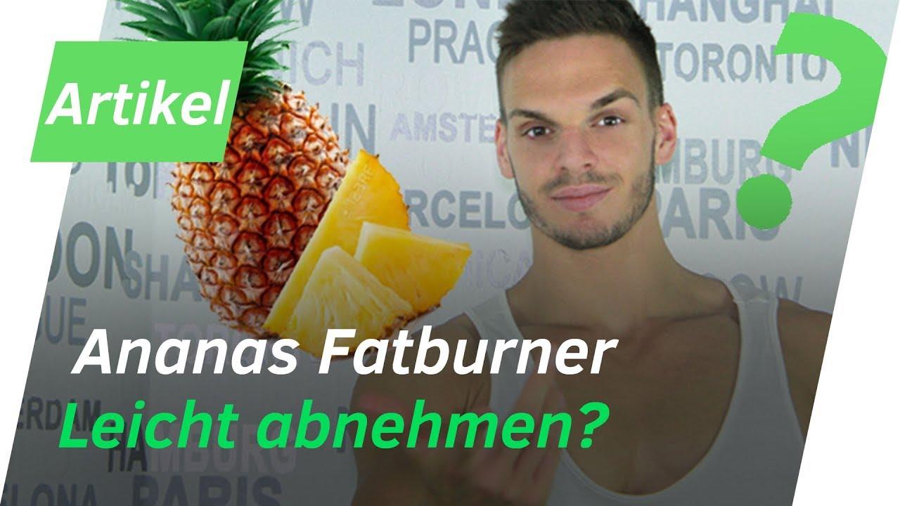 mit ananas schnell kilos abnehmen